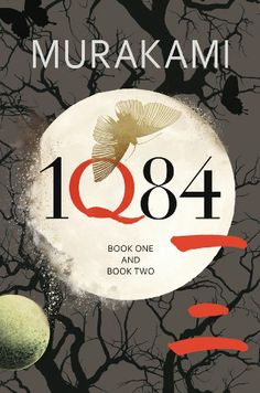 Haruki Murakami - 1Q84 Book One and Book Two http://bookatlas.files.wordpress.com/2011/10/1q84.jpeg