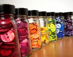 button rainbow