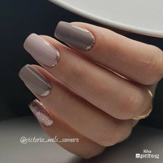 Beautiful! Classy Nails!