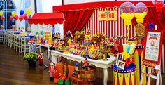 Festa Circo – encantadora   Macetes de Mãe