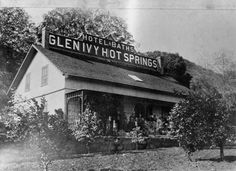 A very #historic shot of the #HotSprings.