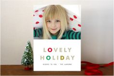 Lovely Rhythm Holiday Photo Cards by kelli hall at minted.com