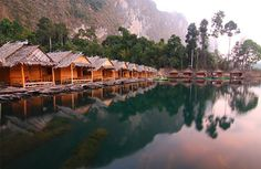 List of floating resorts in Khao Sok National Park Thailand