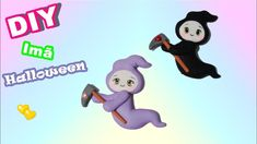 Kawaii Grim Reaper Fondant or Clay Tutorial