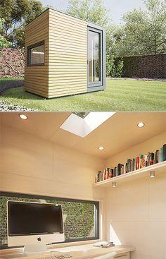 backyard offices by british company pod space backyard home office pod