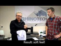 Learn how to do this and set-up at home, in a garage, a studio, a business.....RhinoTech features How To Set-Up a Digital Fabric Decorating Shop w/Sing...