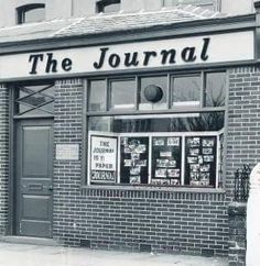 Swinton & Pendlebury Journal Office, Chorley Road, Swinton. Salford, Local History, My Heritage, Old Pictures, Vintage Photos, Places To Visit, Manchester, Memories, Journal