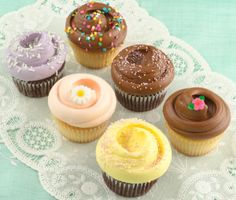 Magnolia Bakery in NYC (google recipes from the bakery... everything looks amazing, especially the buttercream frosting and the banana pudding)