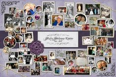 The perfect way to showcase lifes highlights with a collection of photographs with personalization. Perfect for a graduation, anniversary, retirement, birthday or funeral. Completely customizable. Available in 2 standard sizes: 16x20 and 24x36. Photos used must be in digital format (scanned if needed) and shared via Dropbox. I will send you an invitation for a free account if you do not already have one. Collages look best with 45-50 photos for size 16x20 and 50-60 for size 24x36.  Upon…