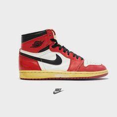 "9d21b6485fe Nike Air Jordan 1 ""Chicago"" from 1994 ❤ 📸 jordansdaily #nike #air"