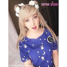 Sailor Moon Kawaii Luna and Usagi T-shirt SP153298