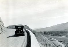A motorist takes in the view between Sparks and Darby, Nev. (1927) http://ow.ly/r3EFG