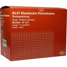 DRACÖLFI elastisch Fixierbinde 10 cmx4 m gekreppt:   Packungsinhalt: 20 St Binden PZN: 00736942 Hersteller: Dr. Ausbüttel & Co. GmbH…