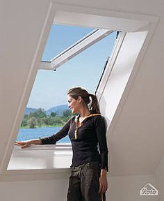 PVC-Dachfenster roto Home, Roof Window, House, Homes, Houses