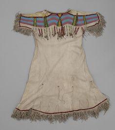 Детское платье, Сэлиш. 1946 год.