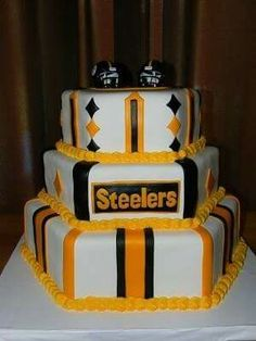 Pittsburgh Steelers Cake Let Them Eat Cake Pinterest