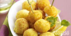 Bolitas de patata al queso #recetas #nestlecocina