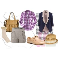Boylike Preppy Style, created by even-syao on Polyvore