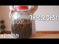 매실청 대신 개복숭아청 만들기 - YouTube