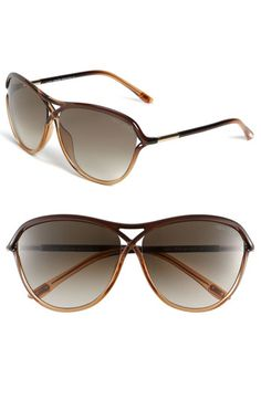 tom ford sunglasses - stylish, big lenses without the weight.