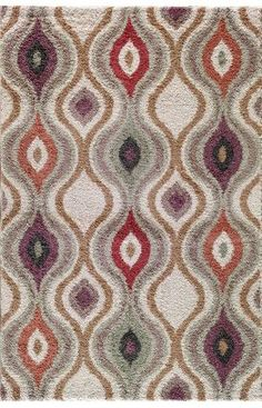 Central Oriental Tacoma Ogive Pearl Rug