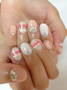 Embellished manicure