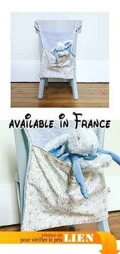 Range doudou ou range pyjama - Motif blanc/or.  #Guild Product #GUILD_HOME