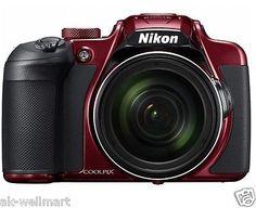 Nikon COOLPIX B700 20.29MP 60x Wi-Fi Digital Camera Red from Japan