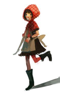 Little Red Riding Hood by Joysuke.deviantart.com