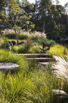 Valuable reference associated to Backyard Landscaping Plans - DIY Garten Landschaftsbau Australian Garden Design, Australian Native Garden, Landscape Plans, Garden Landscape Design, Garden On A Hill, Coastal Gardens, Backyard Landscaping, Landscaping Ideas, Landscaping Edging