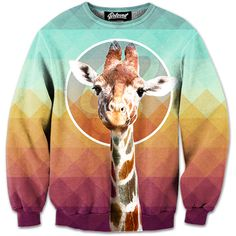 Beloved Giraffe Sweatshirt - @kittykatty92 I know you want this, but you may not have it. ;)