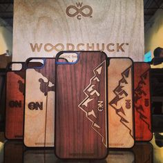 Our Limited Edition #OutdoorNation iPhone 5/5s cases.  Help us get people back outside!  http://www.woodchuckcase.com/collections/outdoor-nation  #woodchuckcase #woodeniphonecase #getoutside
