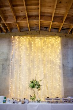 Lovely backdrop!   The Standard Knoxville | Weddings, Receptions, Galas & Parties