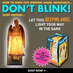 Doctor Who: Weeping Angel Nightlight