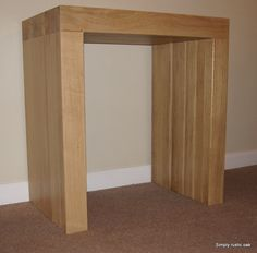 ROFSWS - Rustic Oak Contemporary Console Table