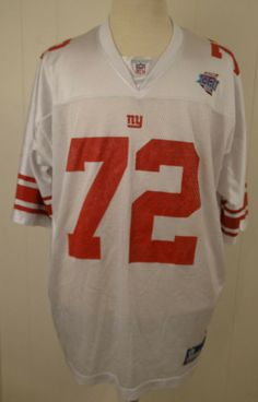2649e02e1 Reebok NY New York Giants Super Bowl XLII Jersey  72 Osi Umenyiora NFL 2XL  White