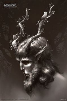 Faun of Healwood: Creature Concept by Balaskas
