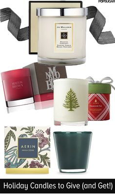Holiday candles we'd love to give (and get!)