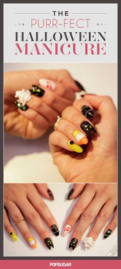 The Purr-fect Halloween Manicure For Nail-Art Fanatics