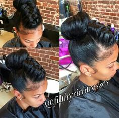 30 Classy Black Ponytail Hairstyles In 2018 Hair Care