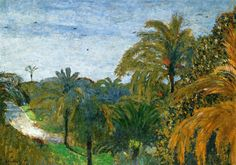 Garden in Cannes, 1901 - Edouard Vuillard