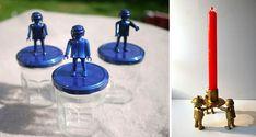 com reciclar figures Playmobil - totnens Deco, Lego Soccer, Playmobil, Decor, Deko, Decorating, Decoration