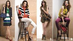 Fashionista's wardrobe.