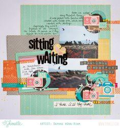 scrapbook page by Daphne Wünn-Rihm @ shimelle.com
