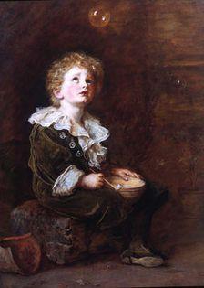 John Everett Millais - Bubbles
