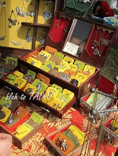 drawers, cigar boxes, jewelry boxes