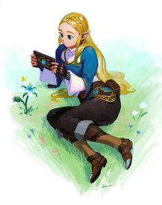 Zelda Breath of the Wild. Legend Of Zelda Memes, Legend Of Zelda Breath, Nintendo Characters, Anime Characters, Transformers, Princesa Zelda, Botw Zelda, Nintendo Super Smash Bros, Link Art