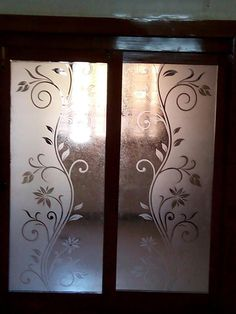Interior Fix Glass Design Glass Partition Designs, Glass Film Design, Bathroom Glass Wall, Window Design, Window Glass Design, Door Glass Design, Ceiling Light Design, Glass Design, Pooja Room Door Design