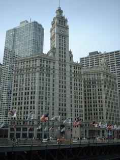 Wrigley Bldg #Chicago