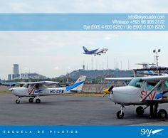 Listos para volar este #findesemana ? #viernes   Nuevos cursos : #Enero   Necesitas información?   Escríbenos a info@skyecuador.com o mensajes WhatsApp 096 906 3172 Teléfonos :  02 601-8230 #Quito  04 600 8250 #Guayaqui
